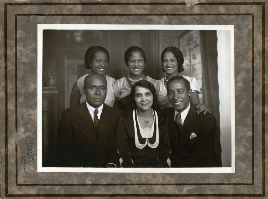 Louis & Marguerite ACHILLE et leurs enfants (sauf Pierre l'aîné)