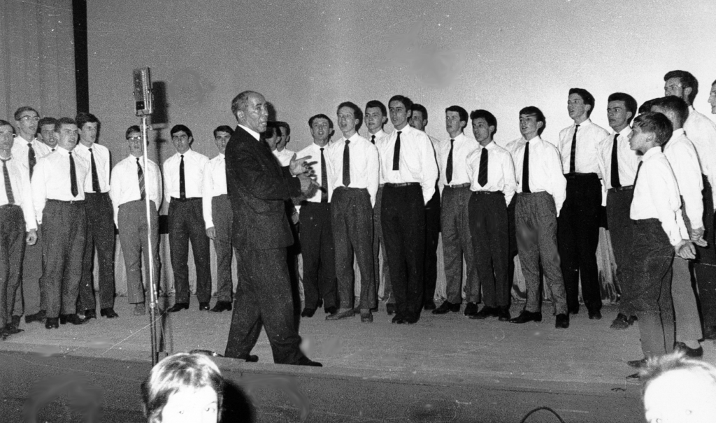 Park Glee Club - Bourg en Bresse - 1963
