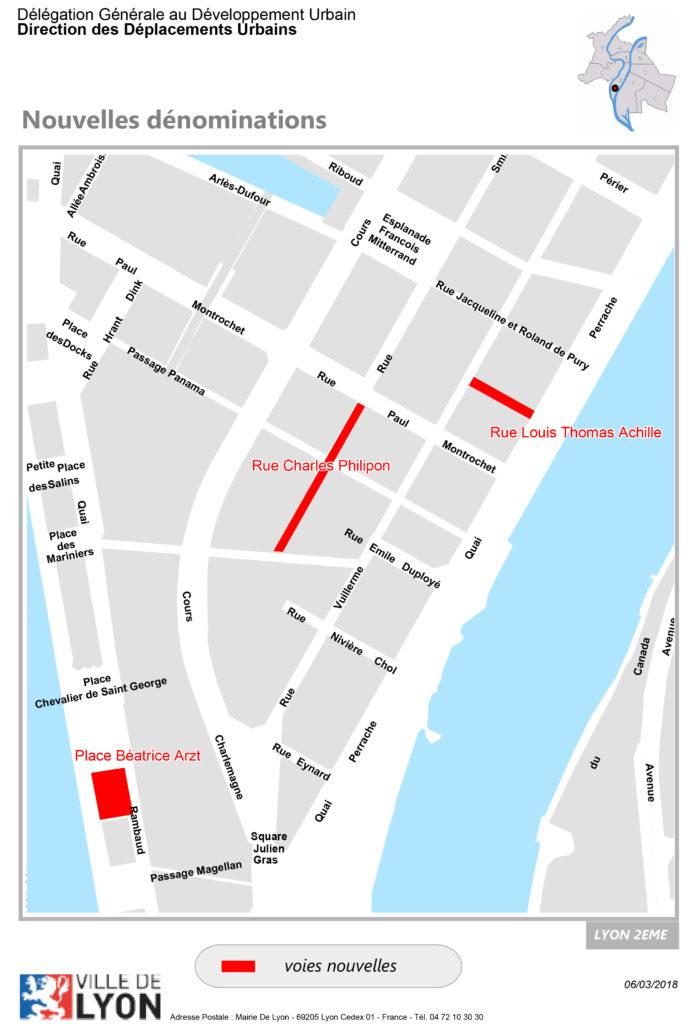 """trouver la """"Rue Louis Thomas ACHILLE"""""""