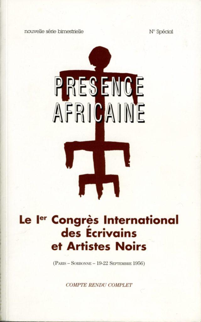 numéro spécial de la revue Présence Africaine