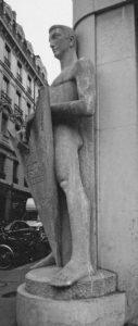 Le Veilleur de pierre - Lyon