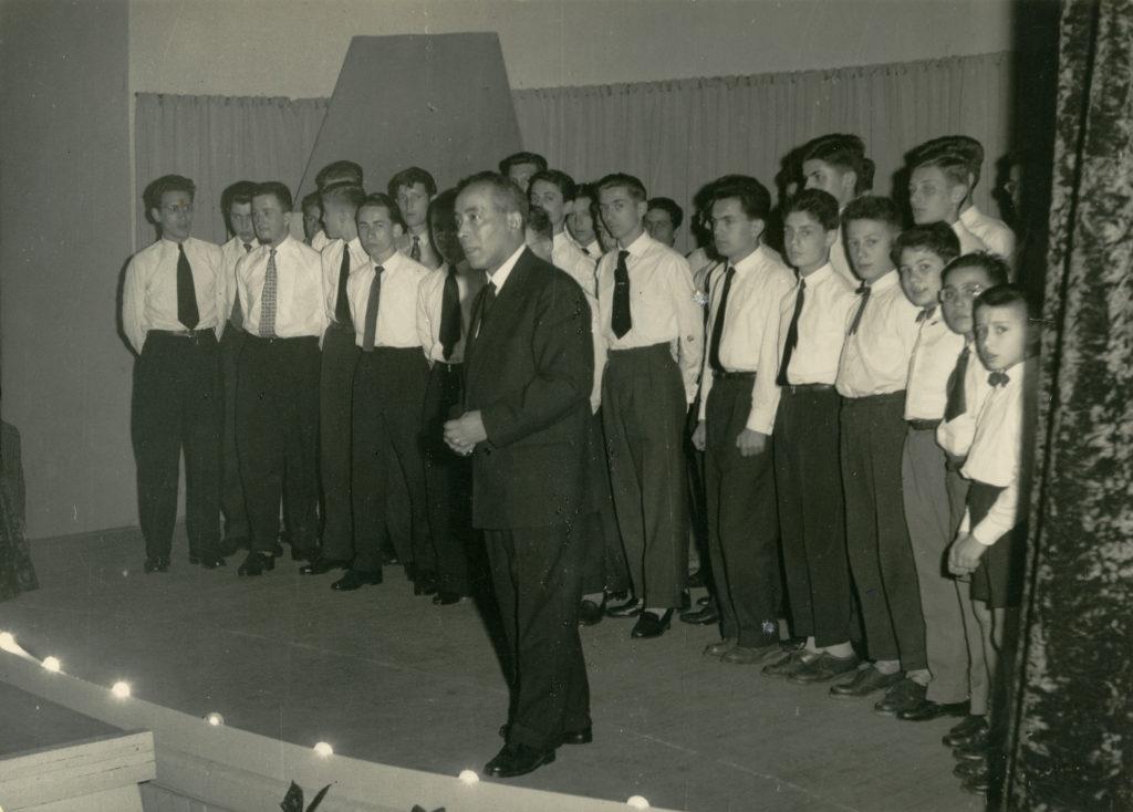 Fête du Lycée du parc 7 avril 1957 - le Park Glee Club