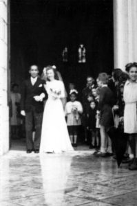 sortie mariage LTA-PMD Belley 1947
