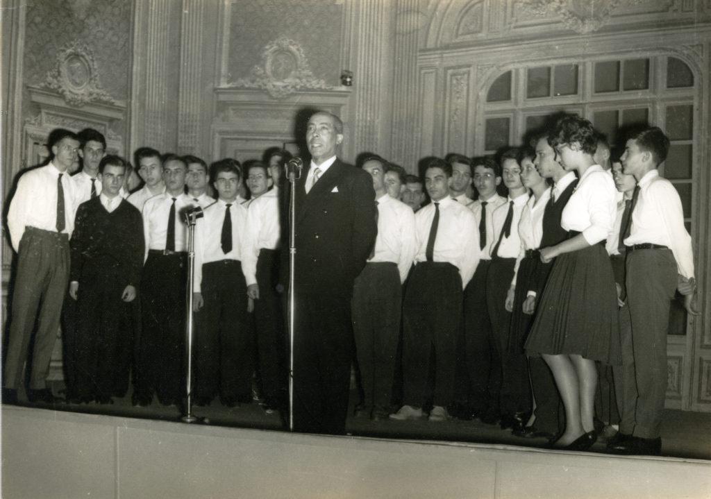 le PGC et son chef - 05/1952