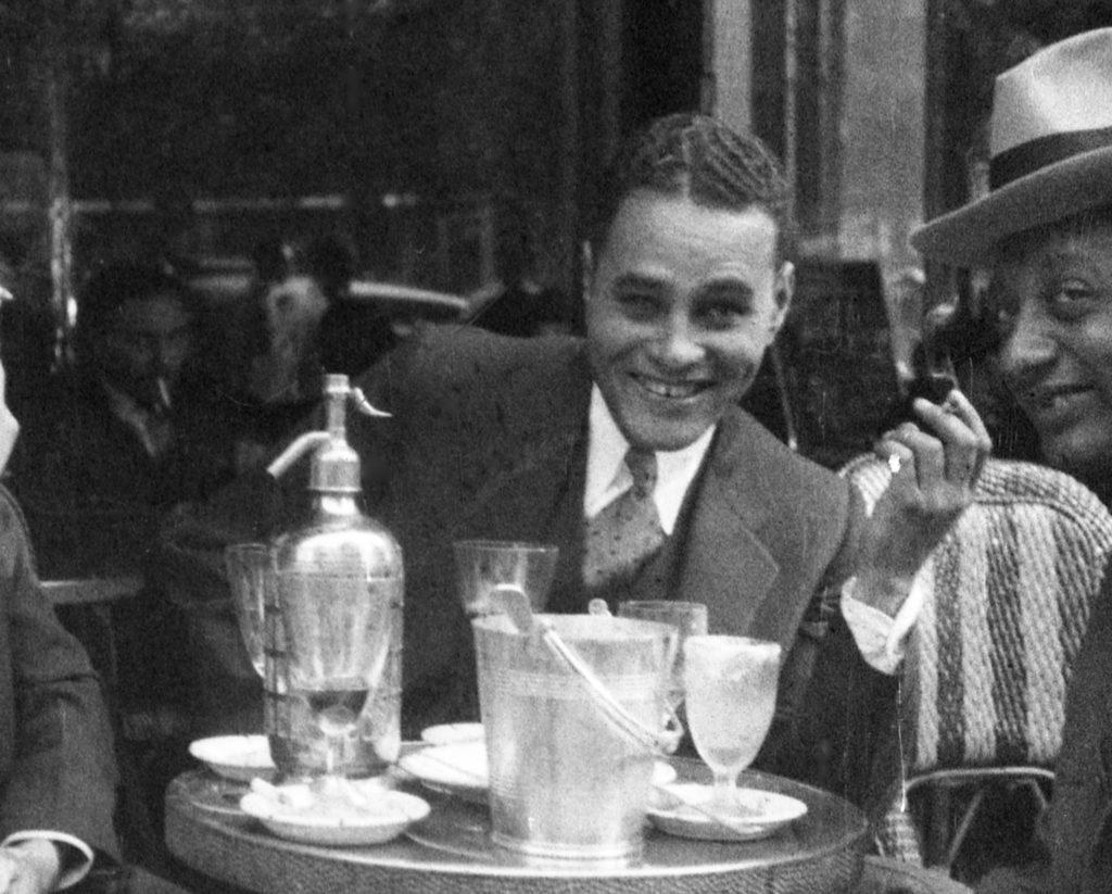 Ralph Bunche au Quartier-Latin de Paris - 1931 ou 1932 (photo Louis Thomas ACHILLE)