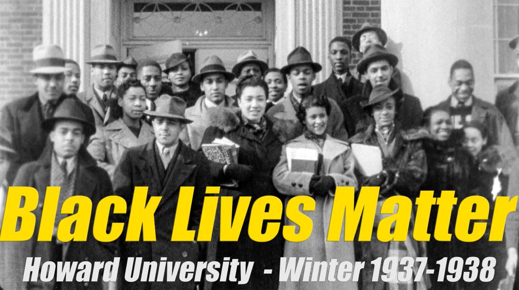 Des étudiants de Louis Thomas ACHILLE à Howard University - hiver 1937-1938