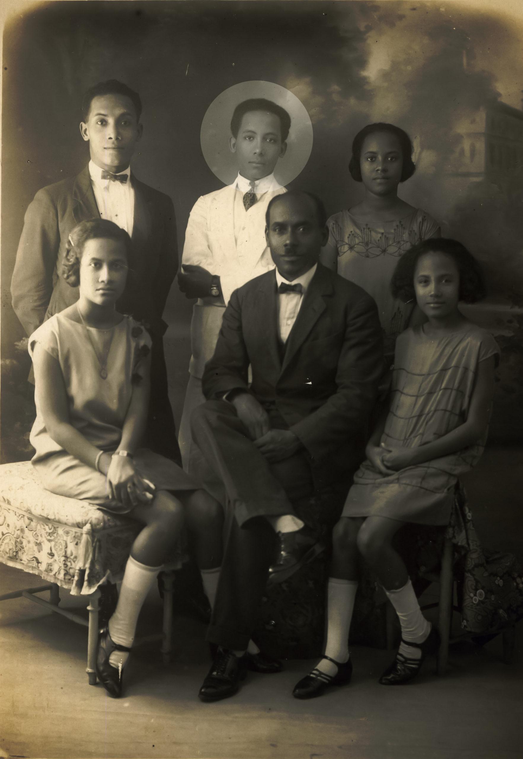 Louis ACHILLE et ses enfants