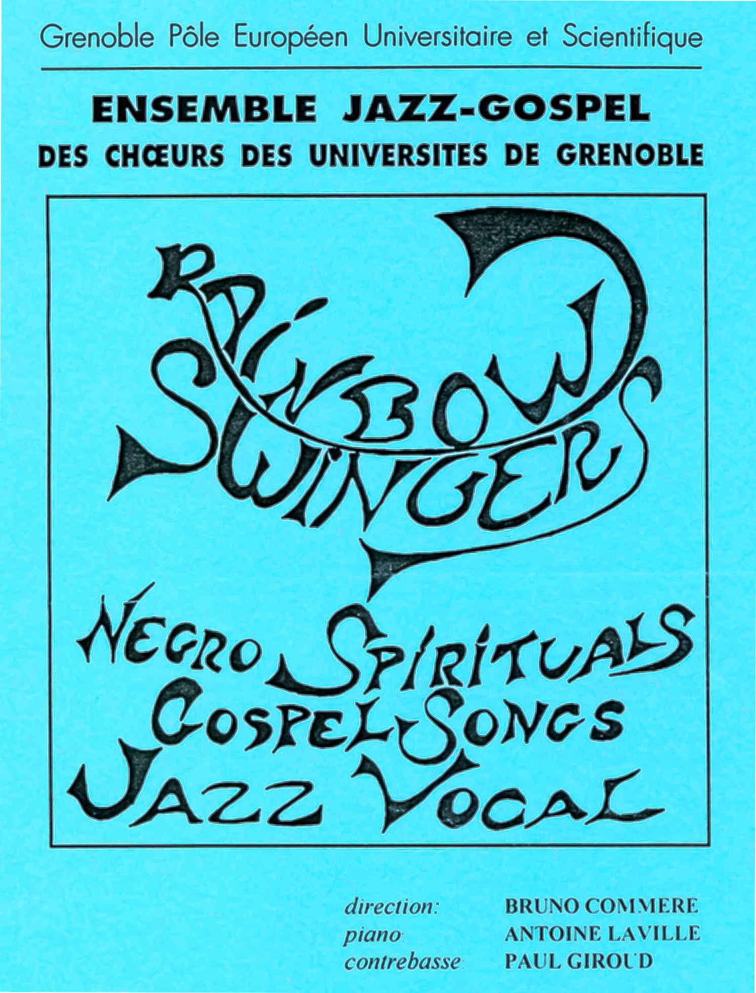Ensemble RAINBOW SWINGERS (Grenoble)